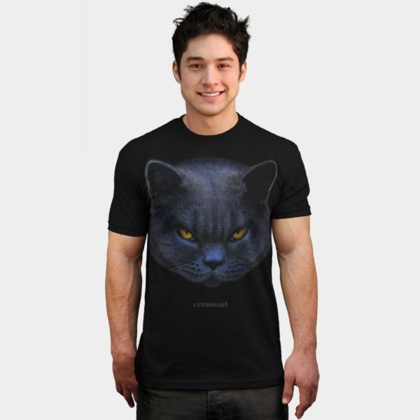 #CrossCat T Shirt By #StrangeStore Design By Humans