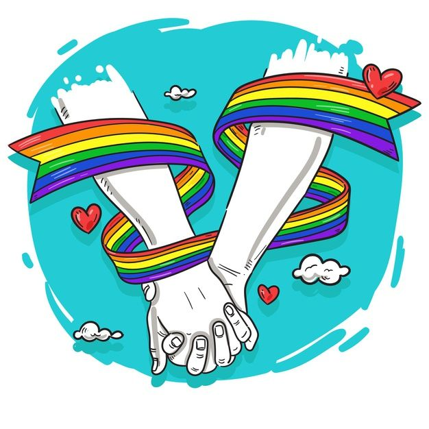 Pride Day, Gay Pride, Arco Iris Lgbt, Lgbt Love, Lesbian Love, Gay Aesthetic, Rainbow Theme, Rainbow Art, Cute Gay