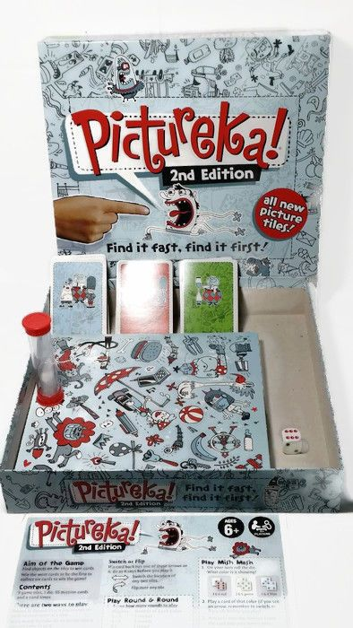 Pictureka Game By Hasbro 2009 Edition 100 Complete In 2018