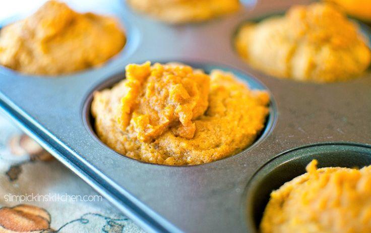 Flourless Pumpkin Blender Muffins Recipe Chocolate