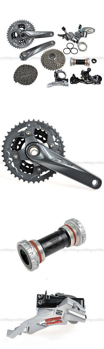 Build Kits and Gruppos 109120: Shimano Alivio M4000 Groupset Mtb Mountain Bike Bicycle Group Set 9-Speed 7Pcs -> BUY IT NOW ONLY: $126.99 on eBay!