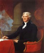 Thomas Jefferson 1805-07  by Gilbert Stuart