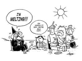 It's hot in Kansas.  How hot?: Florida Funny, In Melted, Florida Heat, Favorite Movies, Funny Quotes, Funny Stuff, Interesting Facts, Hot Weather, Heat Waves