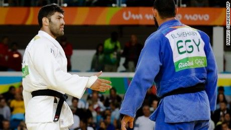 Rio Olympics: Was an Egyptian judo player punished for refusing to shake hands…