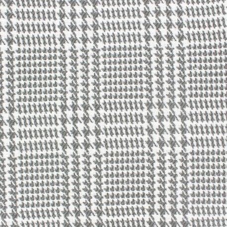 Tissu toile Olot - gris clair x 10 cm