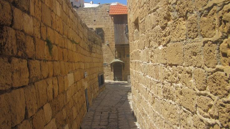 Streets of ancient Jaffa