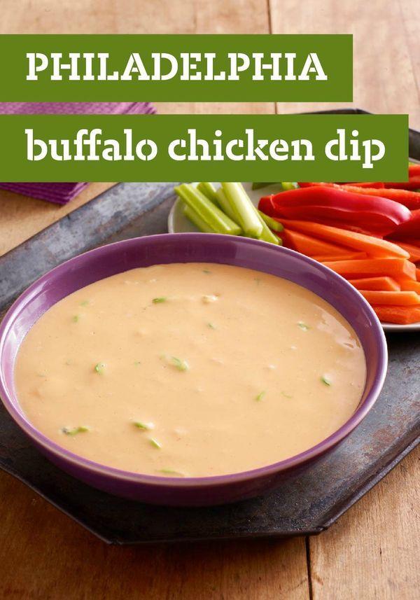 PHILADELPHIA Buffalo Chicken Dip – Send chicken wings back to ...