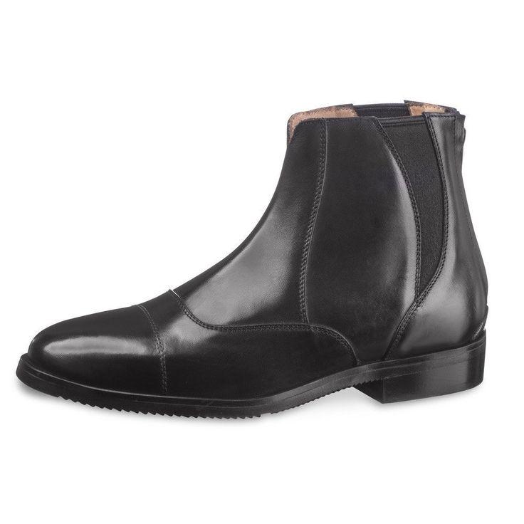 EGO 7 Libra Paddock Boot Black The Twisted Bit