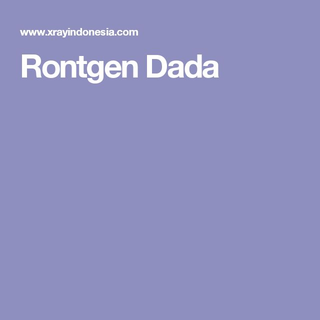 Rontgen Dada