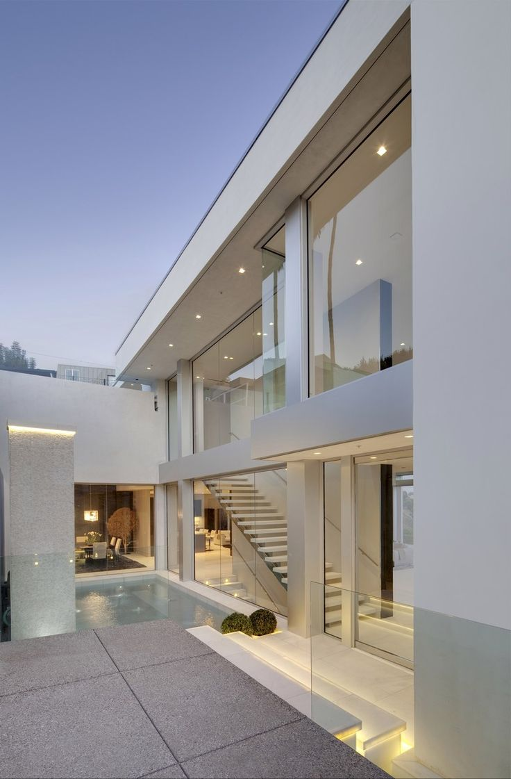 Glass-Filled Biscayne Bay House by STRANG Architecture
