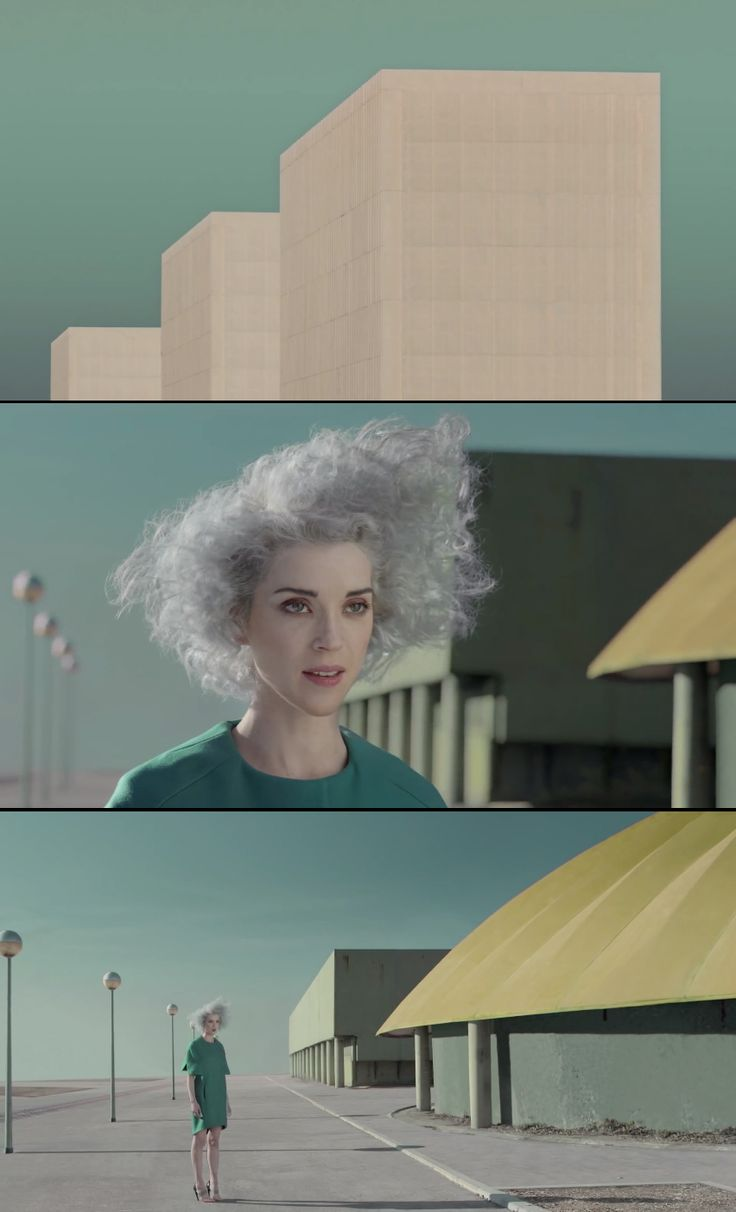 St. Vincent's Digital Witness video is very cool.