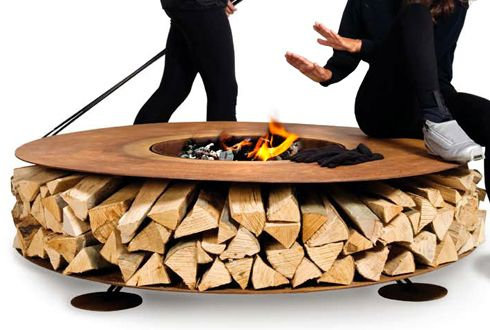 The Zero Fireplace by Italian Design Group AK47