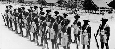 An overview of the role of indigenous Australians in conflicts - Australian Defence Force