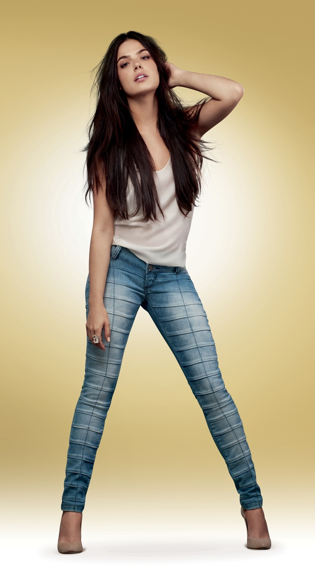 jeans, Isis Valverde by Planet Girls
