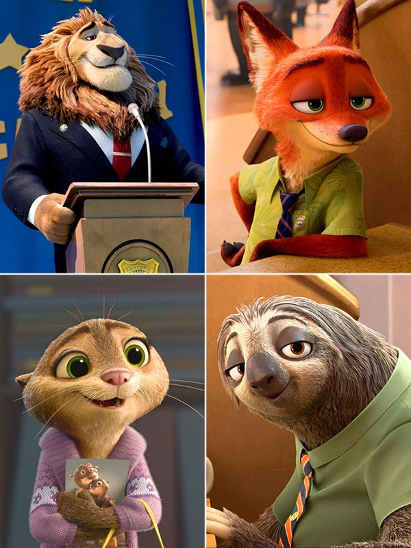 Zootopia Meet The Adorable Residents Character Photos