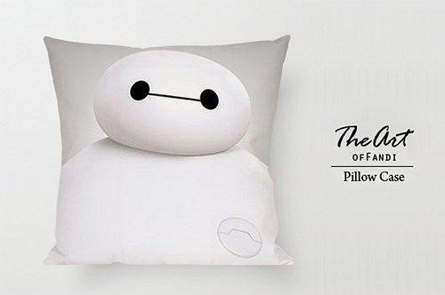"Big Hero6 Bay Max - Custom Square 18""x18"" One Side Pillow Case."