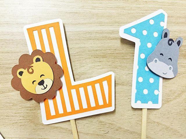 *SAFARI* Hoje tem! 1 aninho do Léo!  #safari #festadoleo #papelaria…