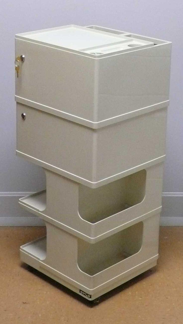 Taboret Neolt Stile 6 Drawer Art Supplyh Cart White