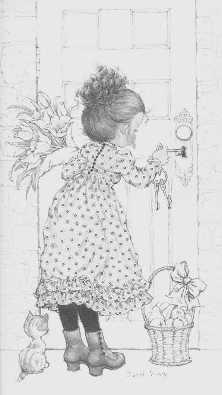 54 best sarah kay para dibujar images on pinterest for Casas para dibujar