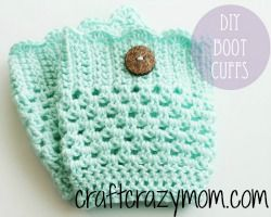 Free pattern for boot cuffs