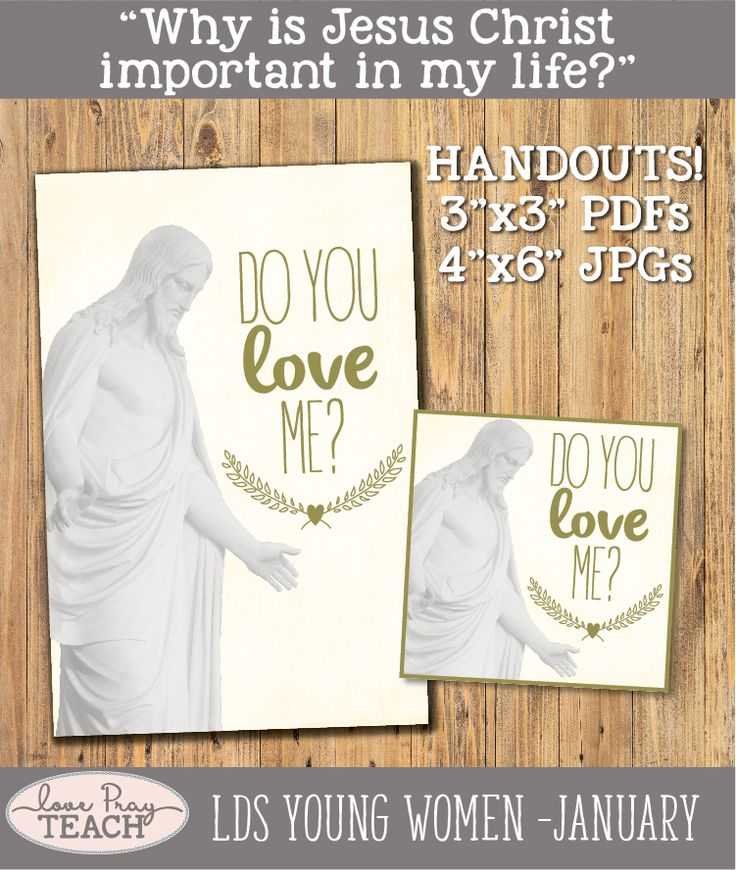 862 Best LDS Young Women Lesson Helps Images On Pinterest
