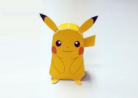PAPERMAU: Pokemon Go - Easy-To-Build Pikachu Paper Toy - by ...