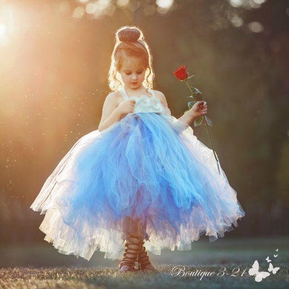 Polvo azul polvoriento vestido azul vestido de por Boutique321