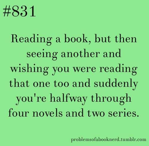 Amazing But When You Finish Three Books In One Month And Your Dad Tells You To Calm