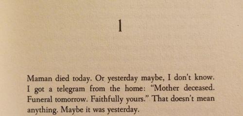 The Stranger, Albert Camus