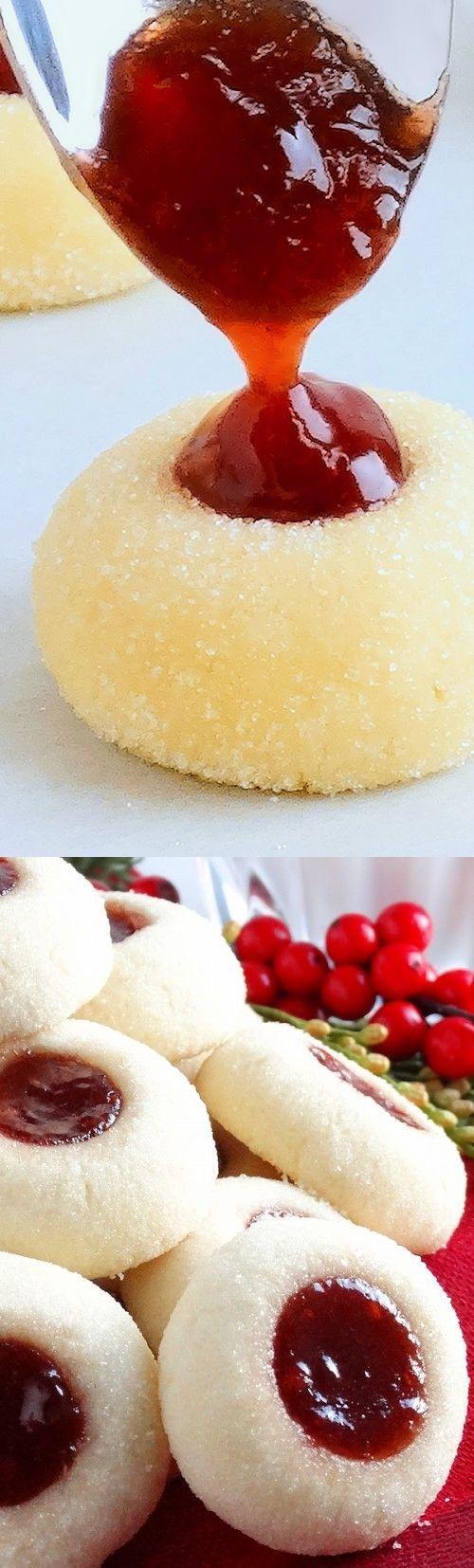 Grandma�s Perfect Jam Thumbprint Cookies