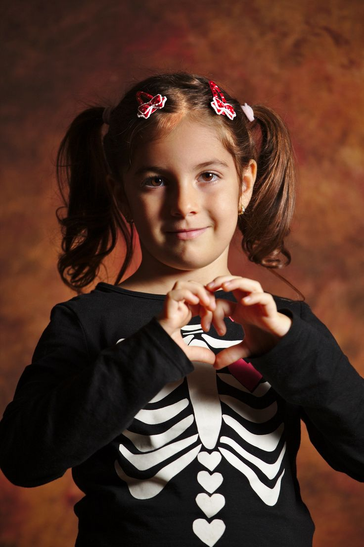 She <3 Halloween - Halloween is fun time for children, they love it