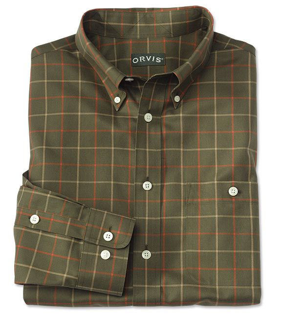 Orvis - Pure Cotton Wrinkle-Free L/S Shirt