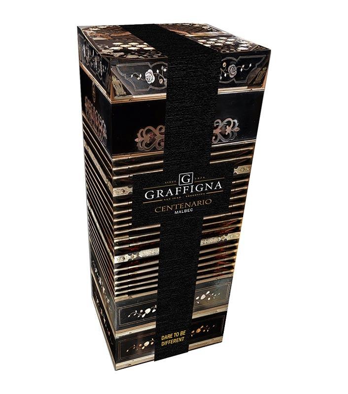 Pack-bandoneon para vinos Graffigna.