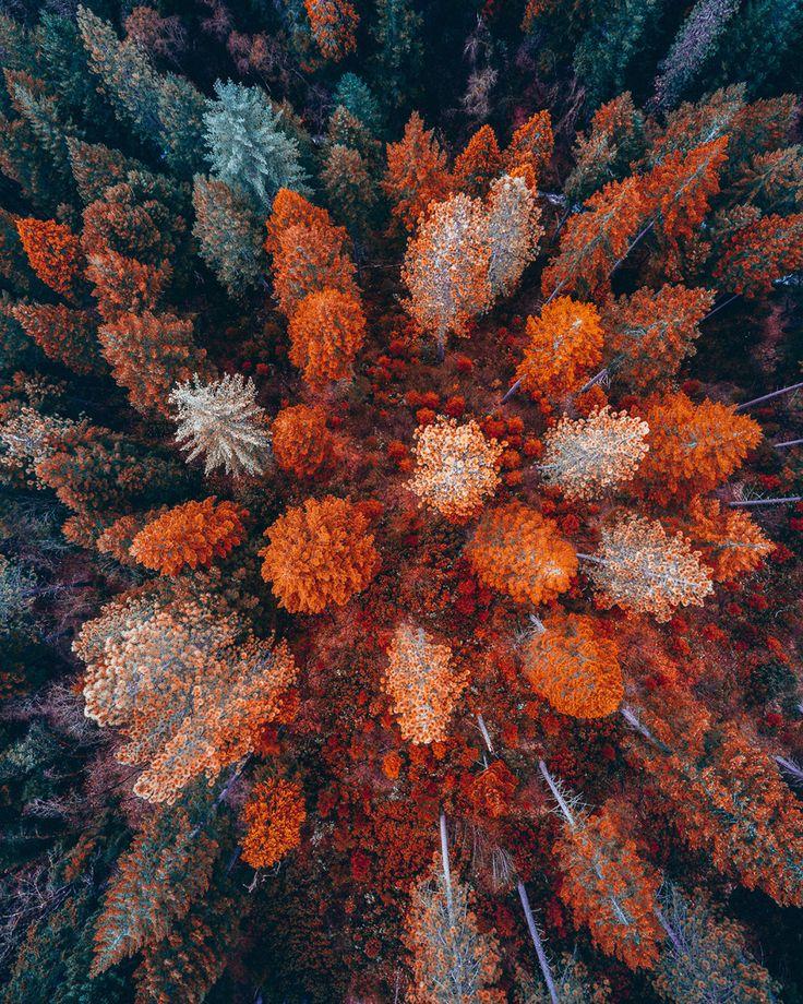 16 Unglaublich schöne Luftbilder des amerikanischen Westens