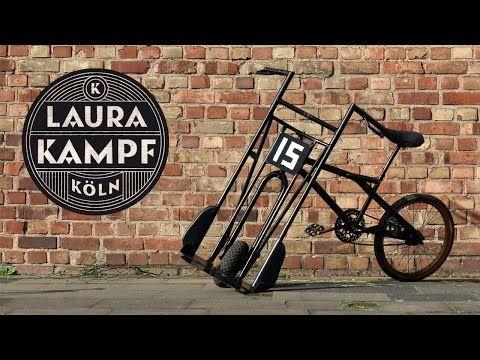 Laura´s Beer Bike (BMX meets Handtruck) - Laura Kampf