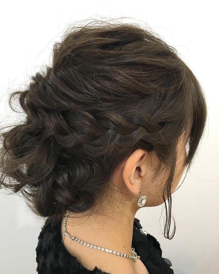 ヘアセットのお客様 くるりんぱと編み込みでふわふわ華やかにお友達の結婚式楽しめたかなありがとうございます中村  #creer_for_hair#鹿児島市美容室#鹿児島#美容室#鴨池#ヘアセット#ヘアアレンジ#パーティヘア#セット#くるりんぱ#編み込み#instahair#hairstyle#hair#hairarrange#hairset#beauty#fashion