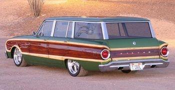 1963 Falcon Wagon  . . . ahh: the falcoon wagoon! my pal Chipper had one. In dusty grey. Ha