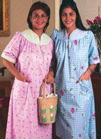 Adaptive Clothing - Backsnap House Dresses (Dusters)