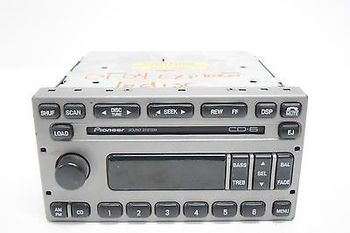 03 04 05 FORD EXPEDITION EXPLORER PIONEER SOUND SYSTEM RADIO 6 DISC CD PLAYER