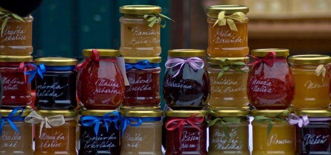 Nejrůznější marmelády jsou samozřejmě klasikou