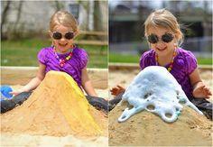 Experiment für Kinder - Ausbruch eines Vulkans