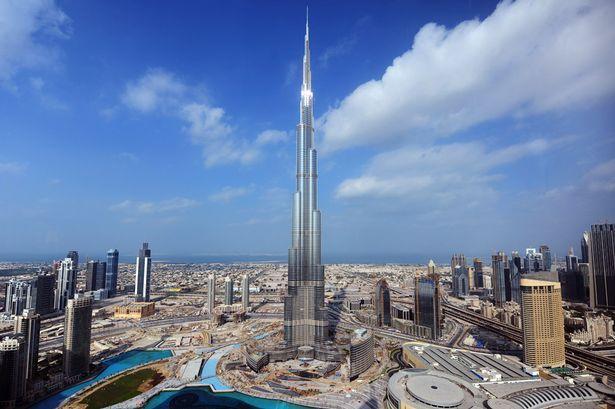 Burj Khalifa - Dubai [tallest building in the world]