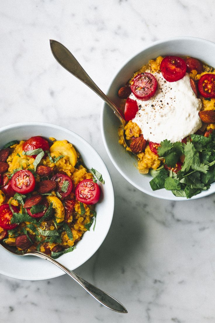 TOMATO DAHL — IN THE MAKING BY BELÉN
