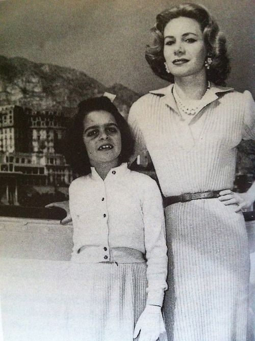 Christina Onassis with her mother Tina Livanos