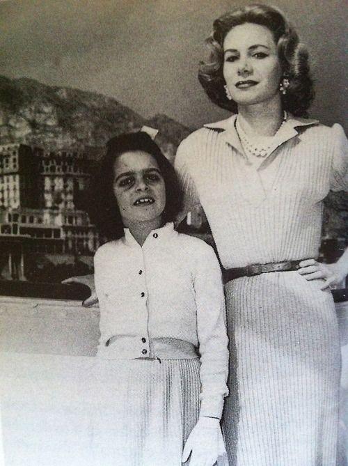 Christina Onassis with her mother Tina Livanos