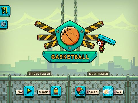 Gasketball: Not Your Typical Basketball Game | Today's iPad Game