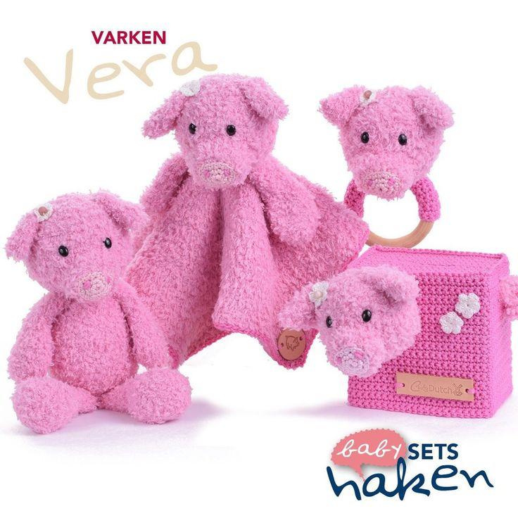 Patroon uit babysets haken - Varken Vera