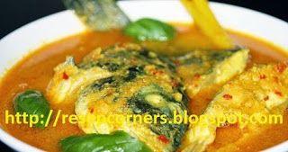 Resep masakan yang terbuat dari ikan bawal dengan bumbu kuning beraroma daun kemangi yang sedap. http://resepcorners.blogspot.com/2014/04/resep-cara-membuat-ikan-bawal-bumbu.html