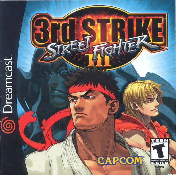 the dreamcast edition of street fighter 3 3rd strike. best 2d fighter ever crafted.