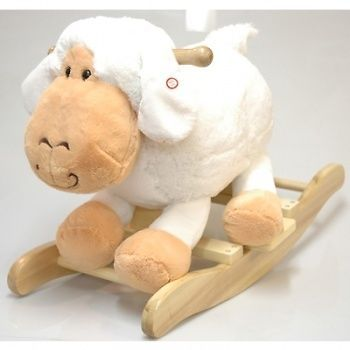 Rocking Sheep, Sheep Rocking Horse with Sound, New!